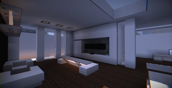 Modern Underground House 1 Minecraft Project