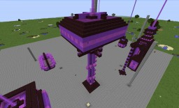 purple crystal observatory Minecraft Map & Project