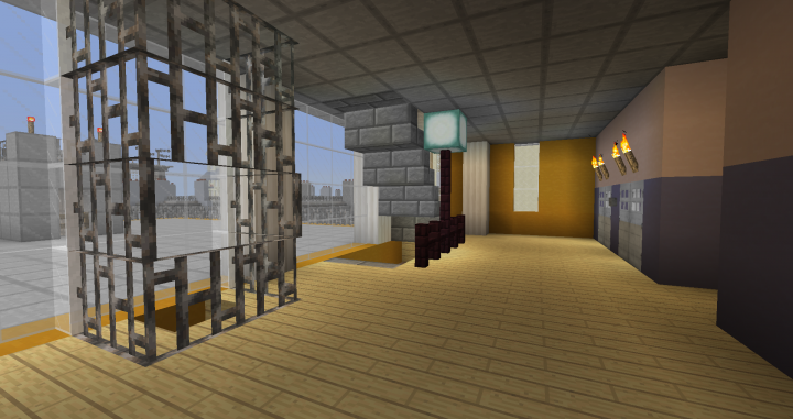 Colorful Apartment Block Minecraft Project