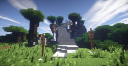 Stairway to Heaven + Timelapse Minecraft Map & Project