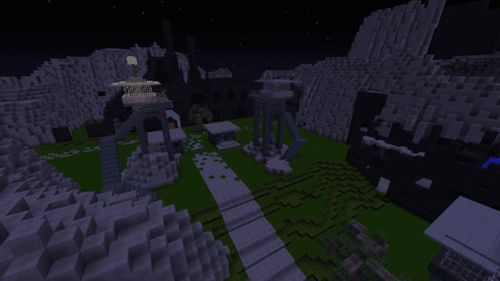 Arkham Asylum Minecraft Project