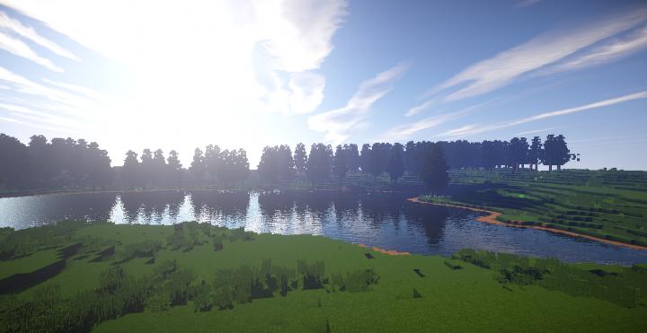 The Brachiosaurus Lake. Welcome to Jurassic Park!