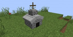 Tiny Churches in Only One Command Minecraft Blog Post