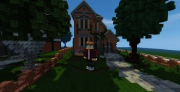 old brick house Minecraft