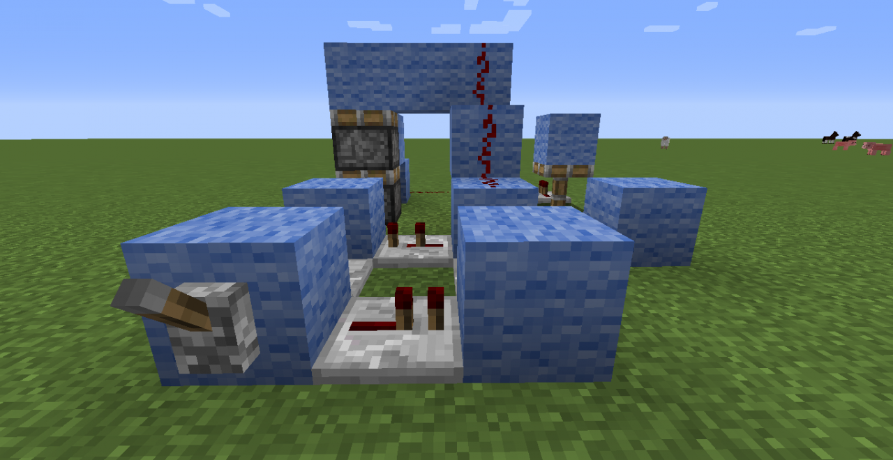 Minecraft Redstone Circuits Wiki Useful Project