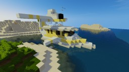 Seaplane (Dornier Seastar) Minecraft Map & Project