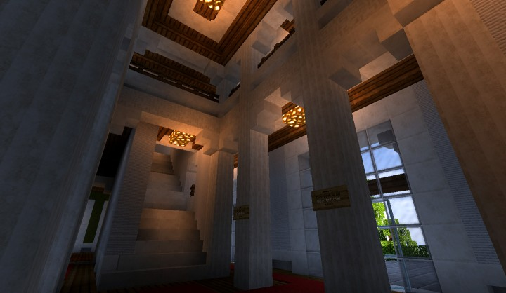 Hotel Foyer Des Guides Ollomont : Quartz hotel minecraft project