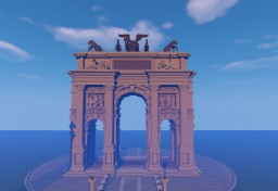 Triumphal Arch Minecraft Project
