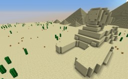Pyramids of Giza: Decorative Land Structure Minecraft Map & Project