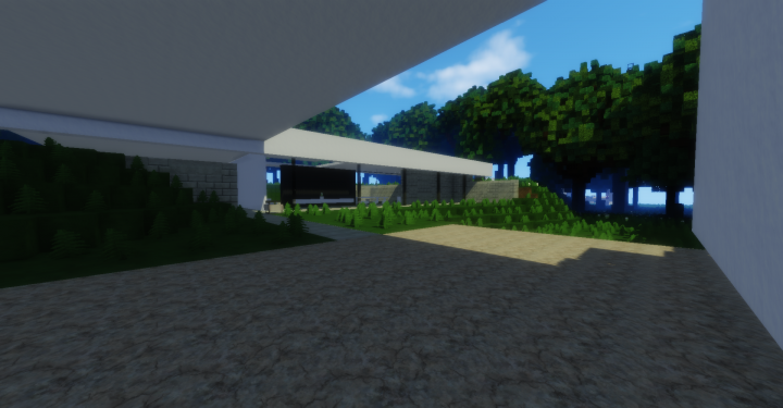 Wok sleek modern house minecraft project Sleek homes that are unapologetically modern