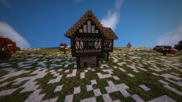 Medieval Home Mockup Minecraft Map & Project