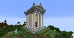 Small Temple of Jupiter Minecraft