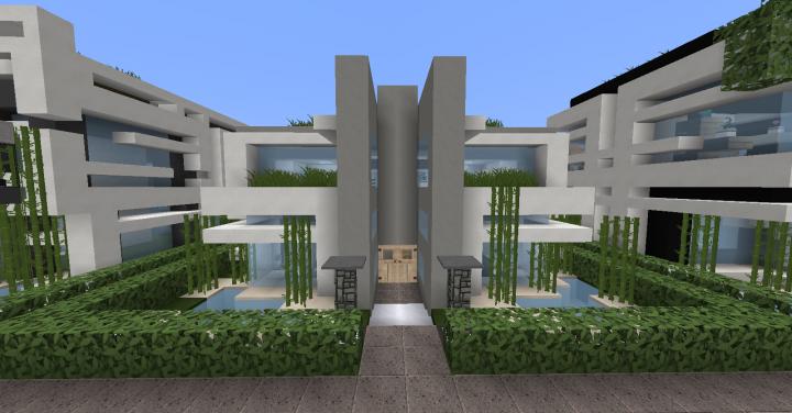 Modern House Set Interior Minecraft Map