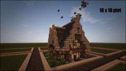 Medieval Cottage Minecraft Map & Project