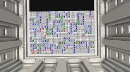 Minesweeper in Minecraft (Minesweeper - RP edition (1.11)) Minecraft Map & Project