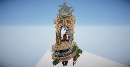 Heaven's Door Minecraft Illustration by CybiDuck & lolipop4498 Minecraft Map & Project