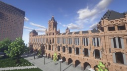 La Coruna Town Hall Replica Minecraft Map & Project
