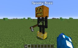 Spooky Boss in one command! Minecraft
