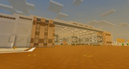 Desert(ed) space yard Minecraft Project