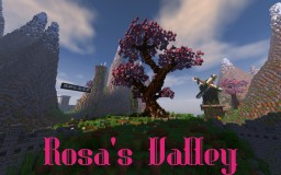 [Spawn / Hub] Rosa's Valley Minecraft Map & Project