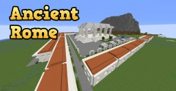 Ancient Roman City near Mount Olympus Minecraft Map & Project