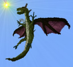 The Dragon Gleadr Minecraft Map & Project