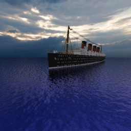 RMS Lusitania + Download 1.10 Minecraft Map & Project
