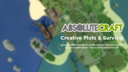 AbsoluteCraft - 1.10 Creative Plots & Survival