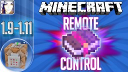 ☿ REMOTE CONTROL ESSENTIALS Gamerules Weather Time + more |  Minecraft 1.11 1.10 1.9 | LapisDemon Minecraft Project