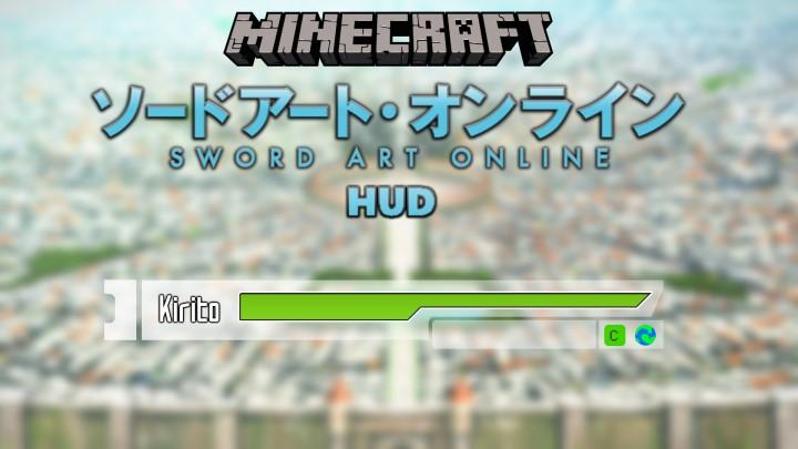 Sword Art Online HUD