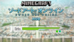 [1.10.2] [Forge] Sword Art Online HUD Minecraft Mod