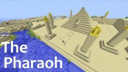 Minecraft Desert Build: The Pharaoh's Pyramid Minecraft Project