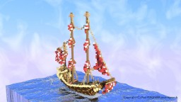 Sailing ship by D-fantome Minecraft Project