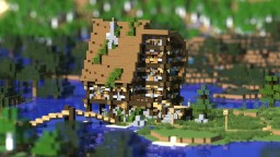 Medieval Wall House Minecraft Map & Project