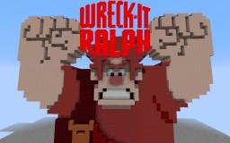 Wreck-It Ralph | 3D 8-Bit Minecraft Map & Project