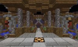 Server Hub. Minecraft Map & Project