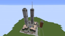 "{Map of the Complex ""World Trade Centre"" Map for version 1.9} Minecraft Project"