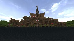 The Hobbit Lake Town Minecraft Project