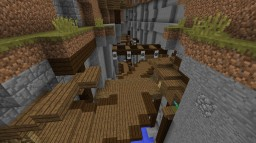 Ravine Town [Small Build] Minecraft Project