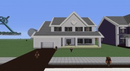Suburban House #3 Minecraft Map & Project