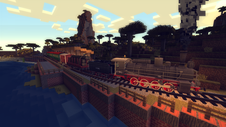 All aboard at Acacia Cove!