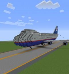 Boeing 747-400 Livery Pack Minecraft