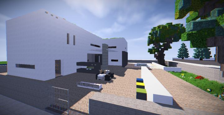 Maison moderne 12 minecraft project for Minecraft maison moderne