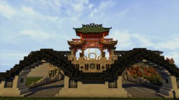 Asian Gardens (WIP) #ConReforged Minecraft Project