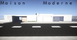 Maison Moderne Modern House Minecraft Project
