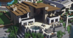 Modern Beach House - Longport Keys Minecraft