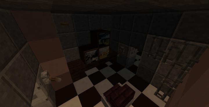 Minecraft Gaming Room Map