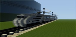High Speed Train #2 - Lychen Minecraft Map & Project