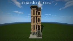 a Brownstone House Minecraft Map & Project