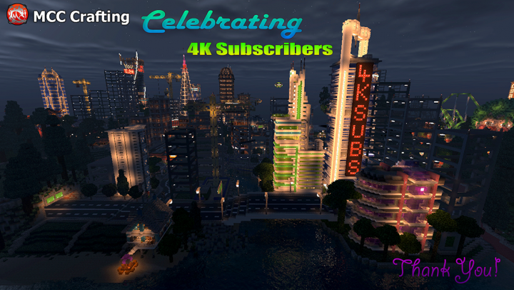 LBS City Los Block Santos Celebrating 4k Subs Night Shot
